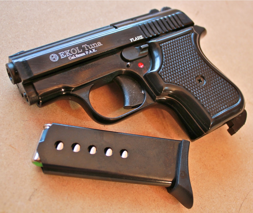 Газов пистолет Ekol Tuna – Gas Alarm Pistol Ekol Tuna black
