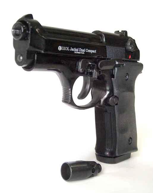 Каратечен газов пистолет Ekol Jackal Compact 9mm