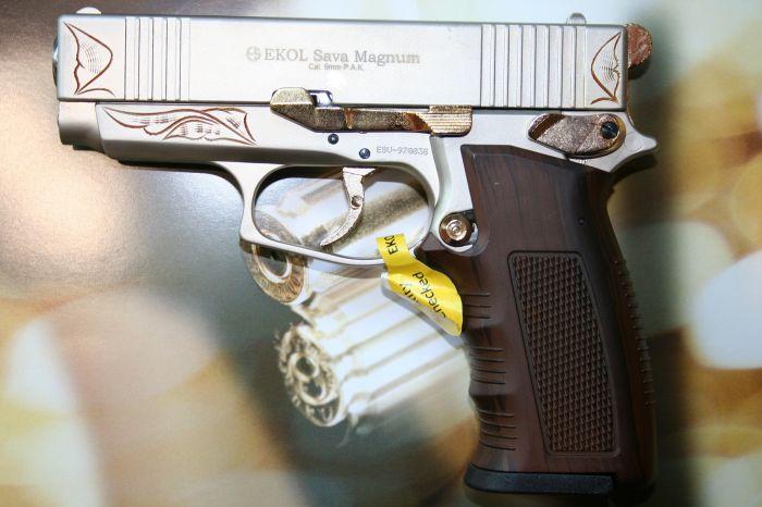 Газов пистолет Ekol Sava – Gas Alarm Pistol Ekol Sava