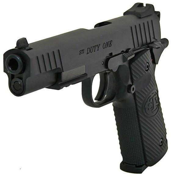 Въздушен пистолет STI Duty One 4.5mm – Air pistol STI Duty One