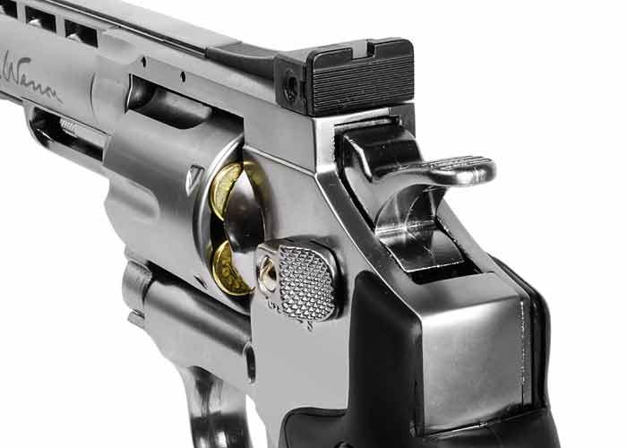Въздушен револвер Dan Wesson 6″ – Въздушен револвер Dan Wesson 6