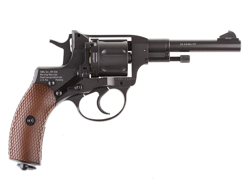 Въздушен револвер Gletcher NGT / Наган М1895 CO2 4.5 mm