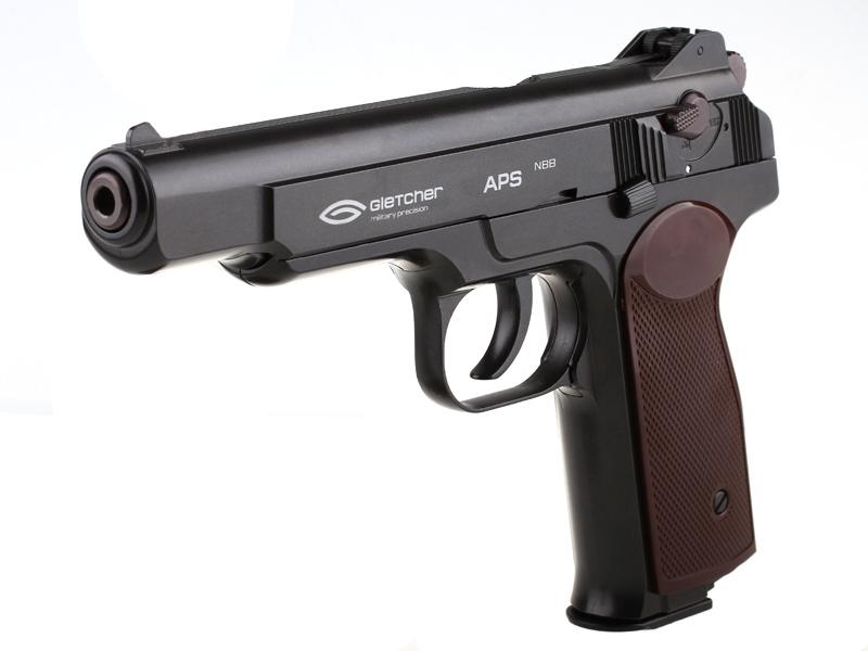 Въздушен пистолет Gletcher APS NBB CO2 4.5 mm