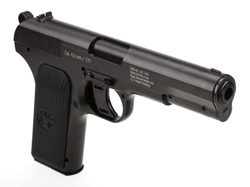 Въздушен пистолет Gletcher TT NBB CO2 4.5 mm