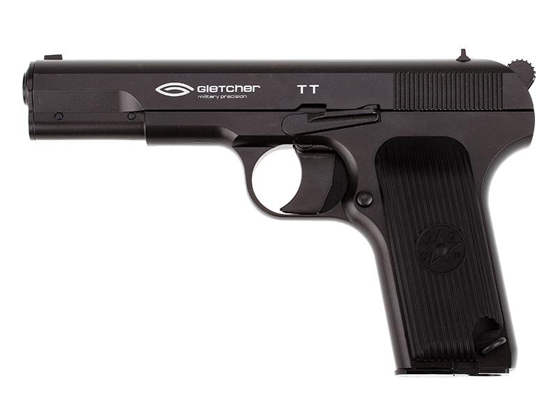 Въздушен пистолет Gletcher TT Blowback CO2 4.5 mm