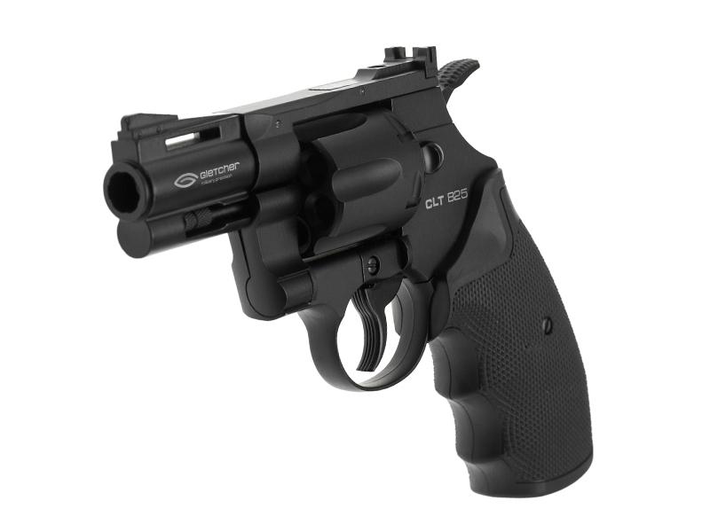 Въздушен револвер Gletcher CLT B25, CO2, 4.5bb