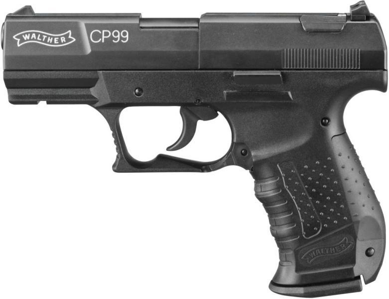 Въздушен пистолет Валтер CP99 Оксидиран 4.5мм -Въздушен Пистолет