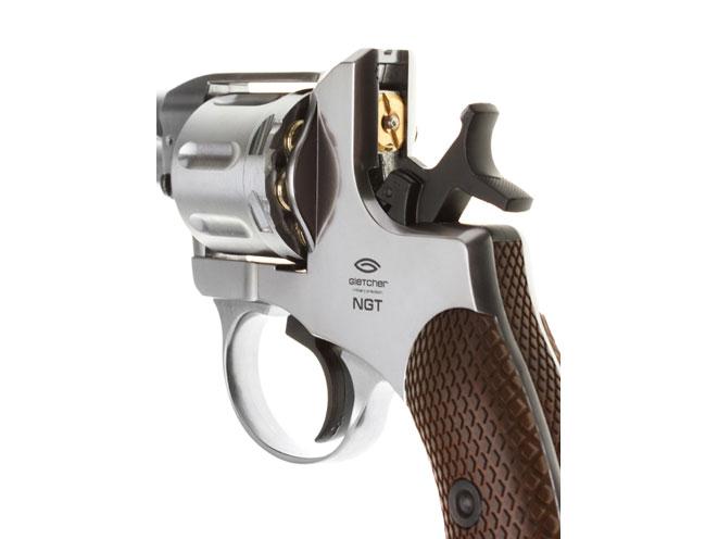 Въздушен револвер Gletcher NGT / Наган М1895 CO2 4.5 mm Silver