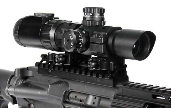Оптика Leapers 1-4.5×28 30mm ACCUSHOT CQB CD/MD С Монтаж