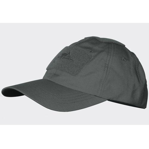 Бейзболна Шапка Helikon-tex Сива Polycotton Ripstop Shadow Grey