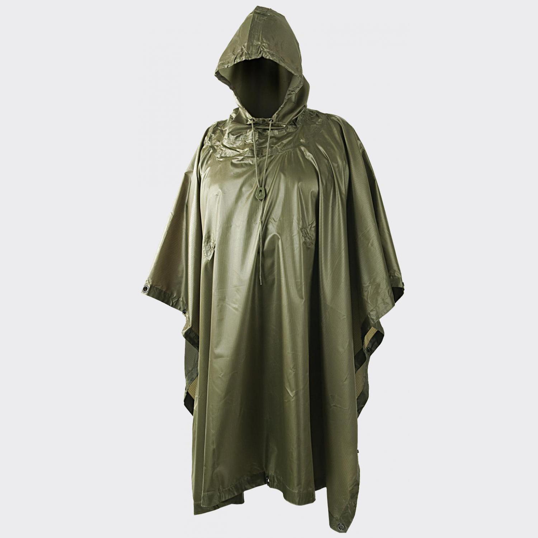 Дъждобран – пончо Helikon-Tex Poncho Olive Green