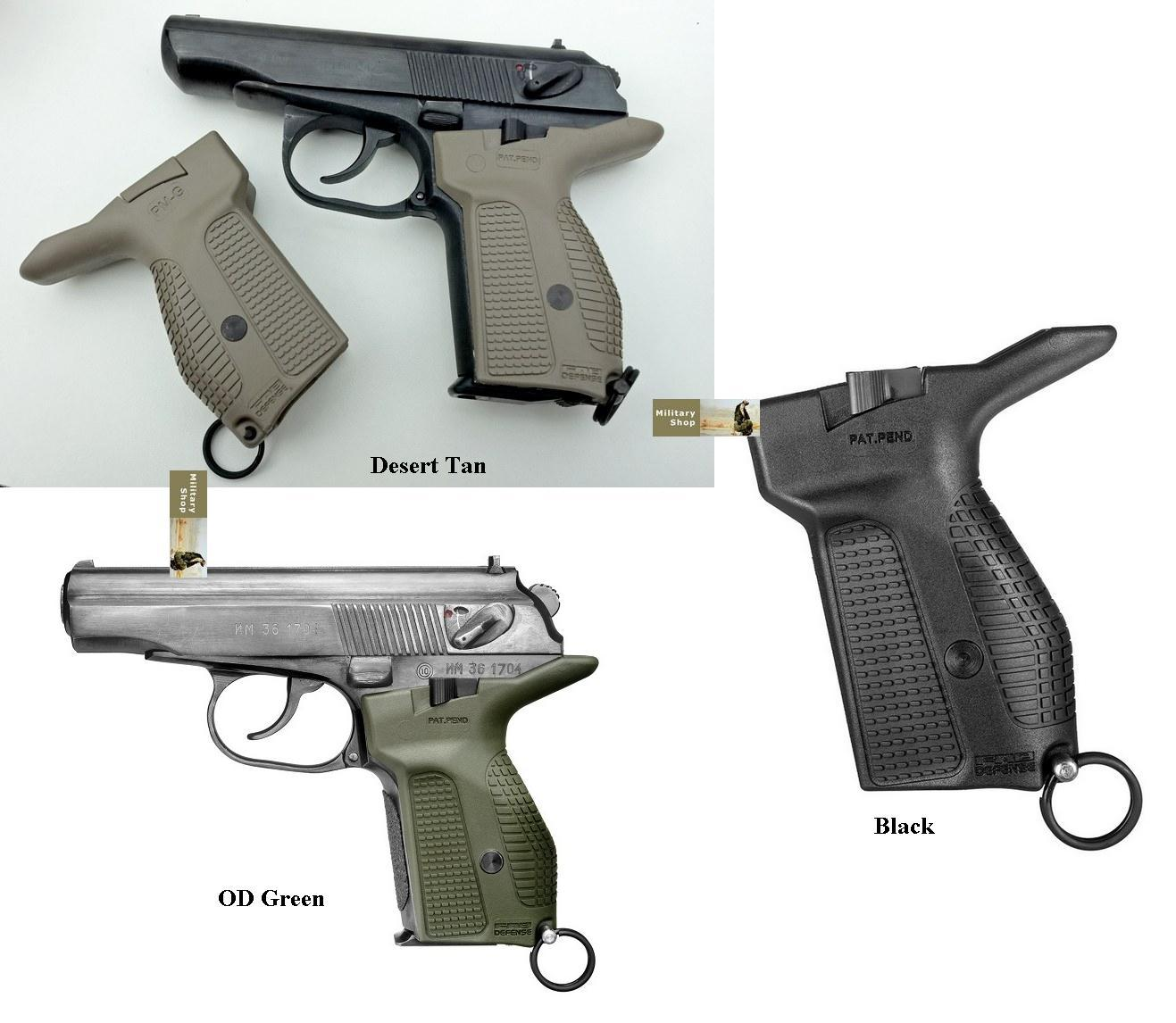 Makarov PM-G Magazine Release Grip FAB Defence