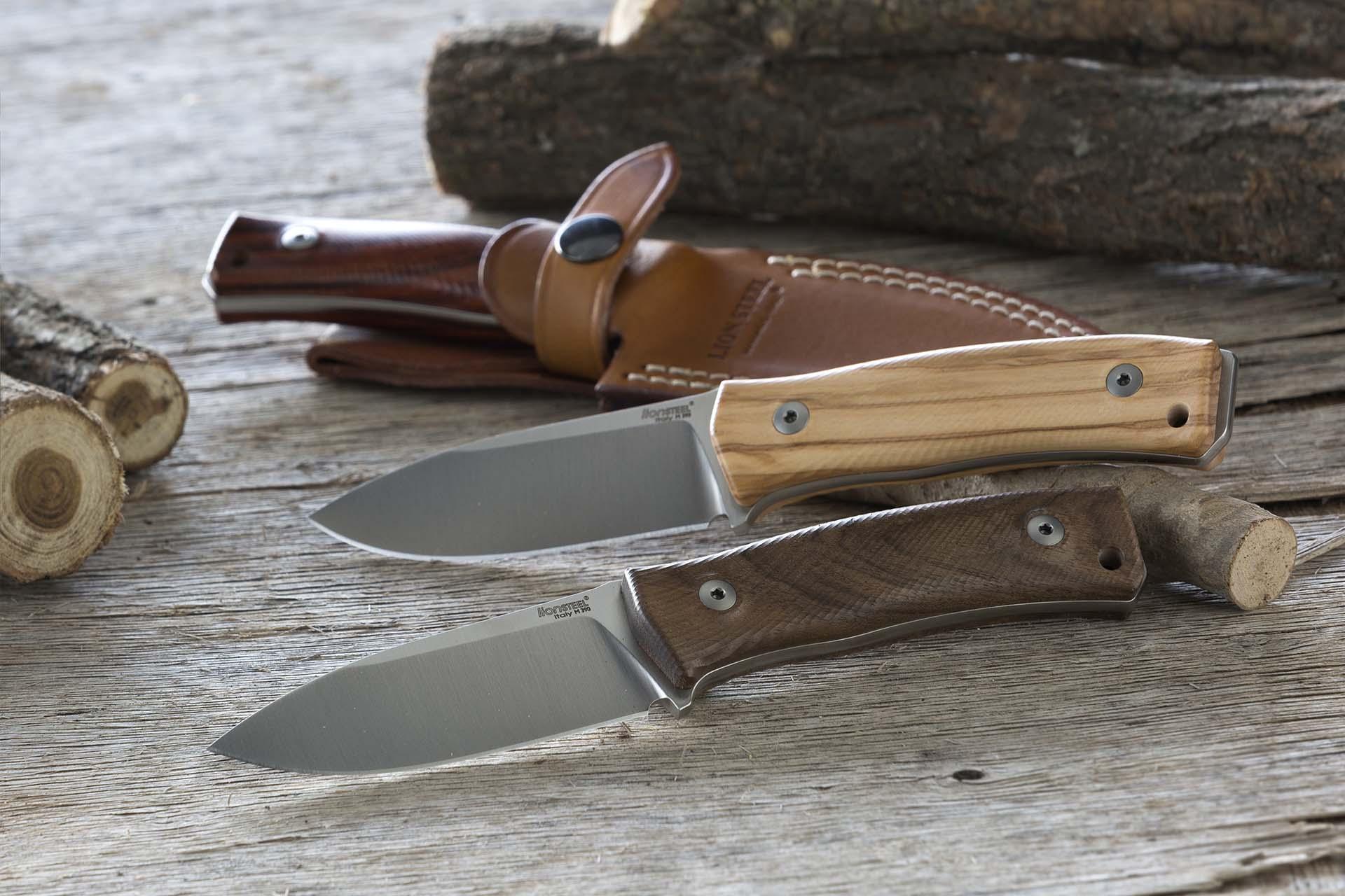 Нож LionSteel M4 Walnut