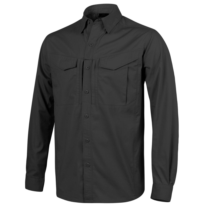 Риза Helikon-tex Defender MKII Black Polycotton Ripstop