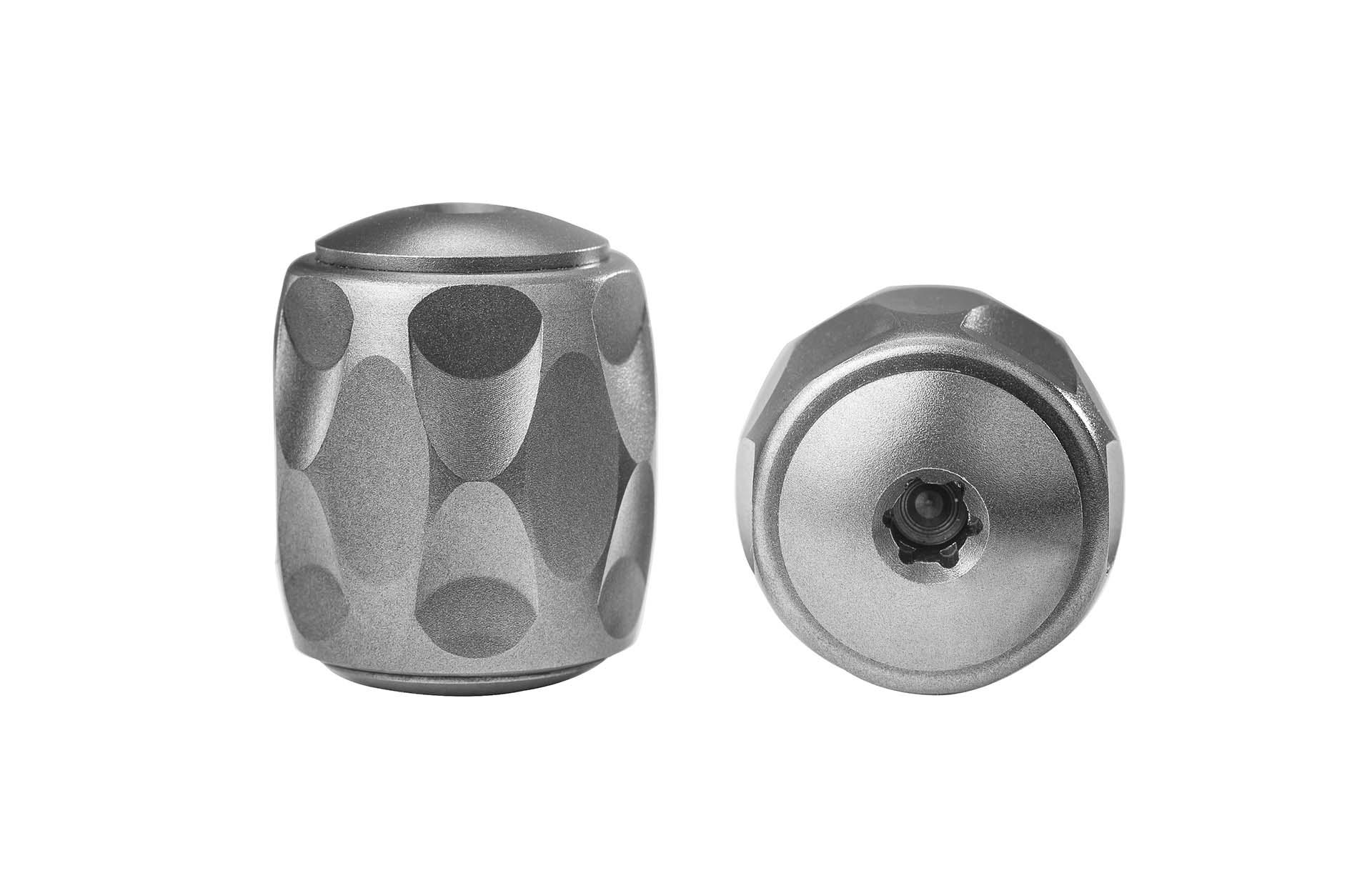 Титаниева перла LionSteel TiP Grey/Bronze/Blue Titanium