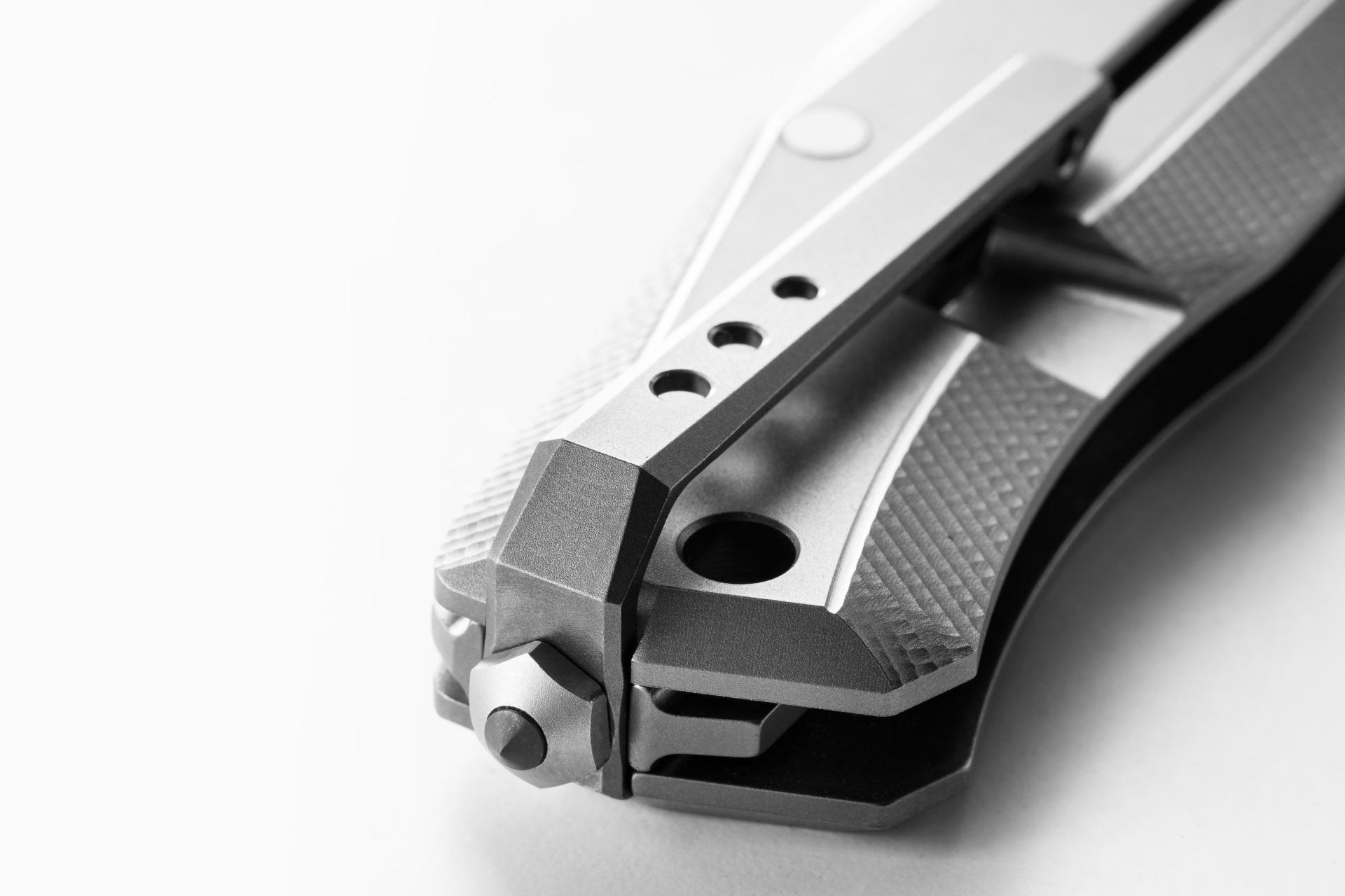 Нож LionSteel Myto Grey titanium