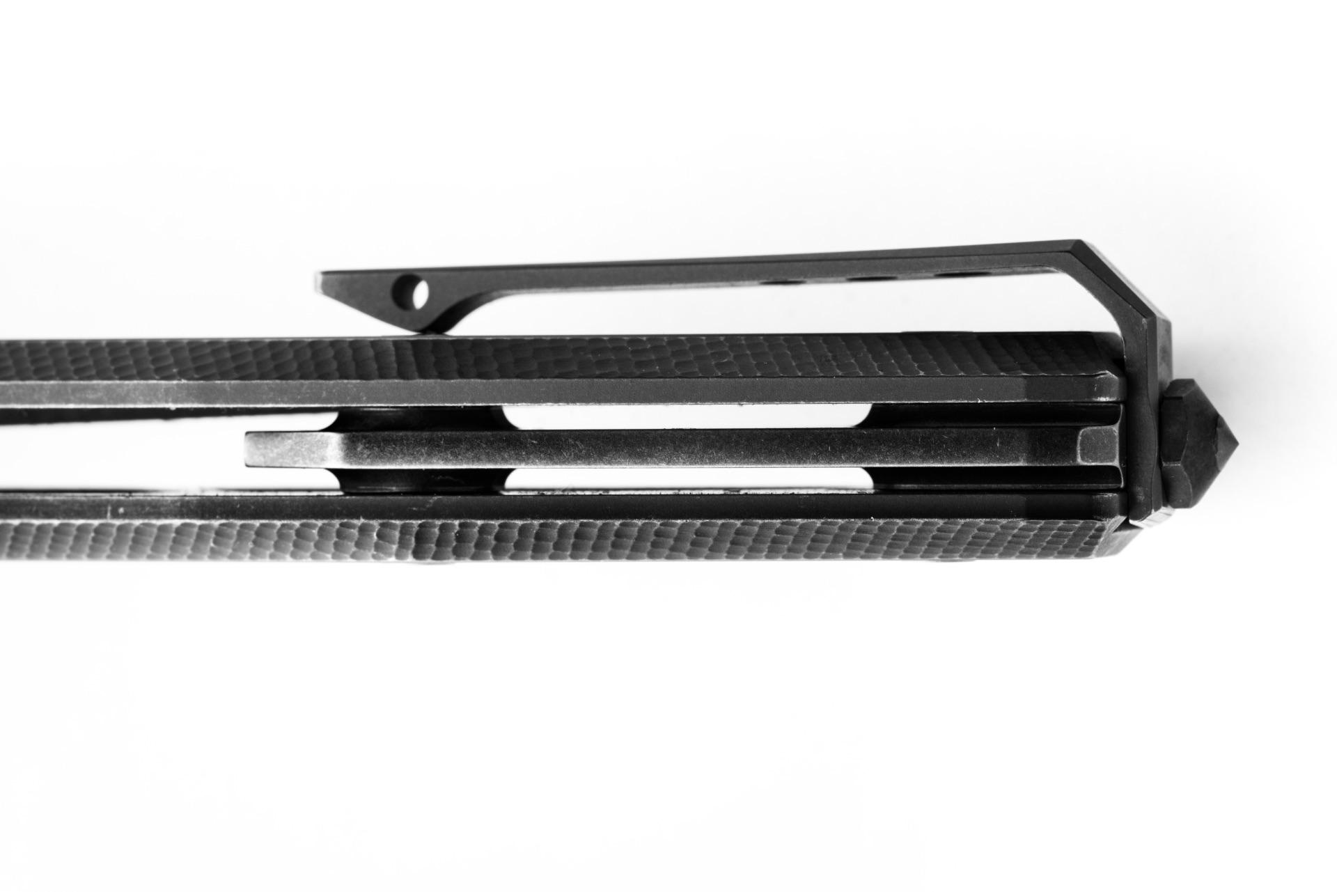 Нож LionSteel Myto Old Black titanium