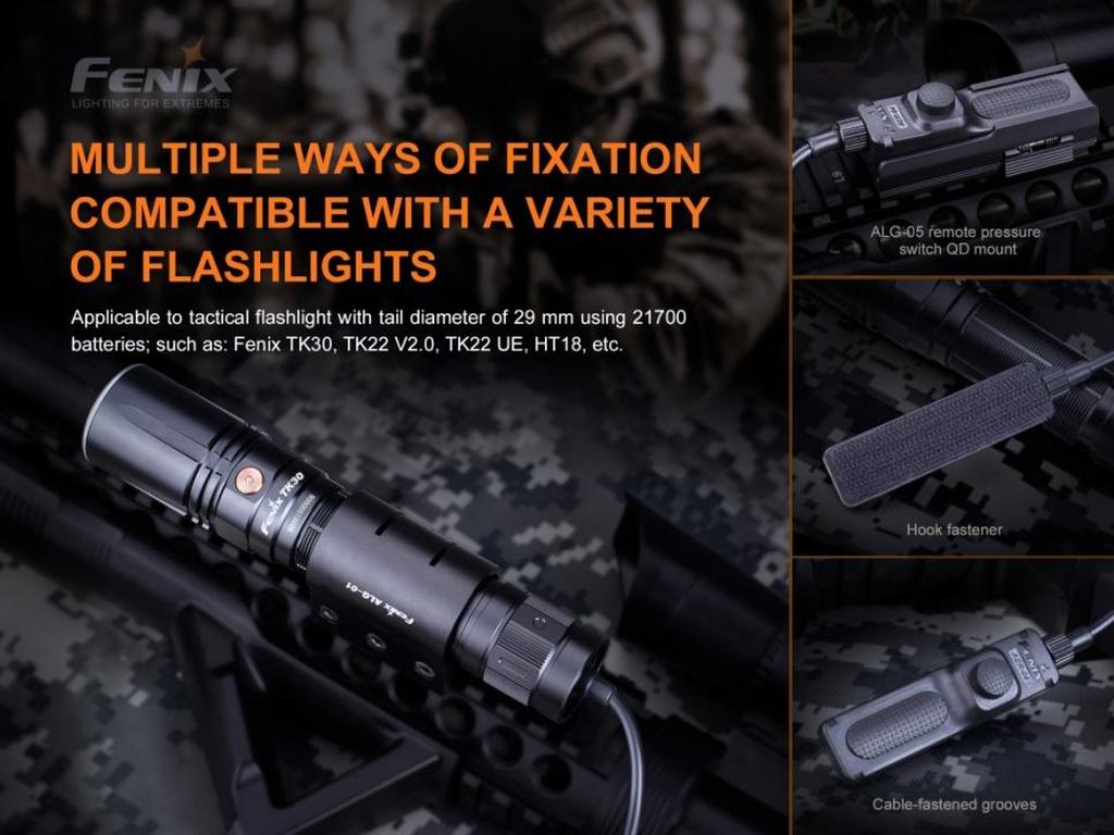 Тактически спусък Fenix за монтаж на оръжие