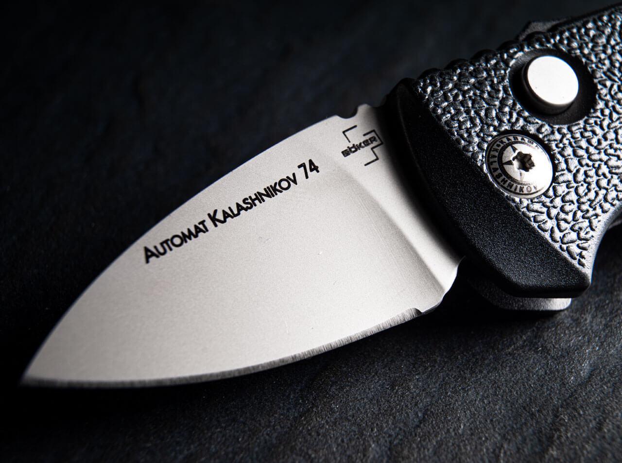 Автоматичен Нож Böker AKS-74 Stubby Swiss Edition D2