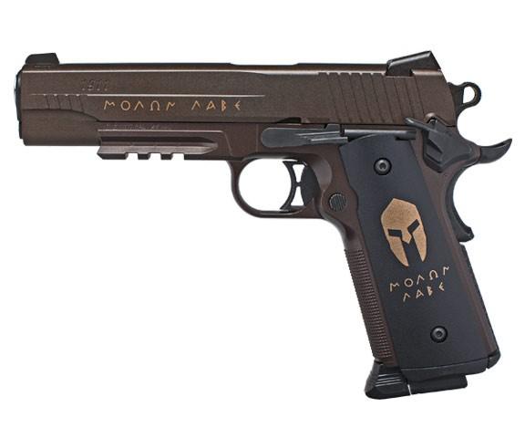 Въздушен пистолет SIG SAUER 1911 Spartan 4.5mm Blowback