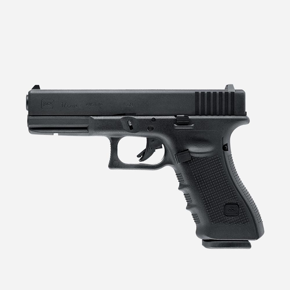 Еърсофт пистолет GLOCK 17 Gen4  GAS airsoft gun 6мм BB