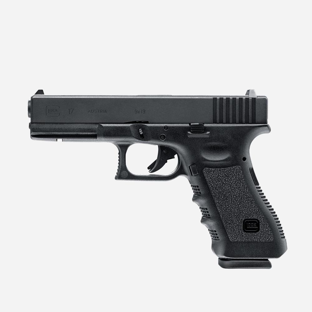 Еърсофт пистолет GLOCK 17 GAS airsoft gun 6мм BB