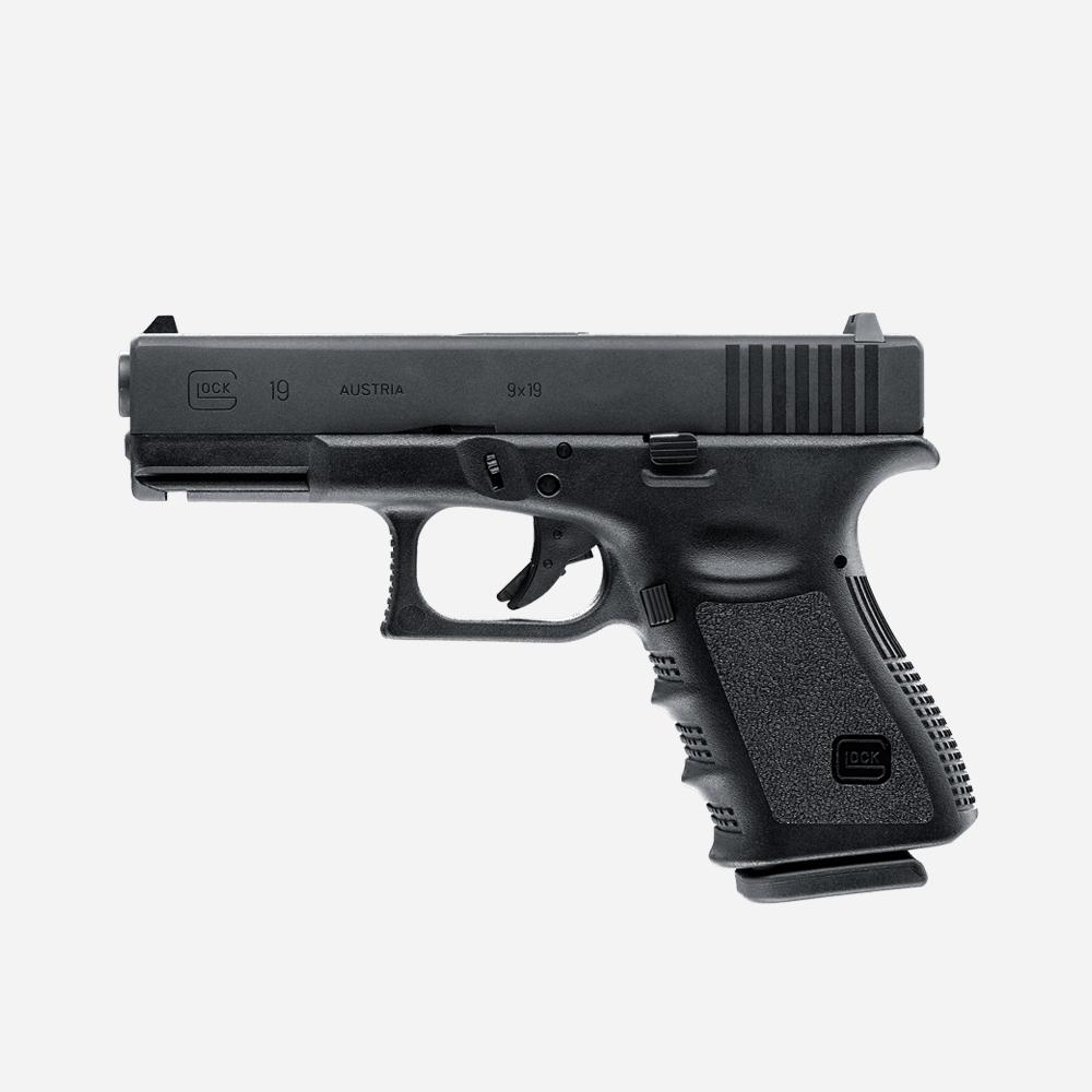 Еърсофт пистолет GLOCK 19 GAS airsoft gun 6мм BB