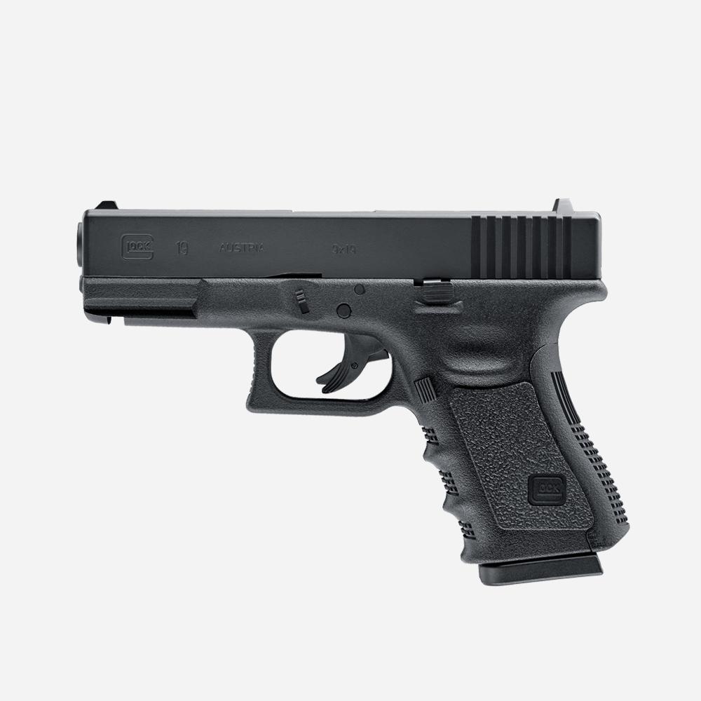 Еърсофт пистолет GLOCK 19 CO2 airsoft gun 6мм BB