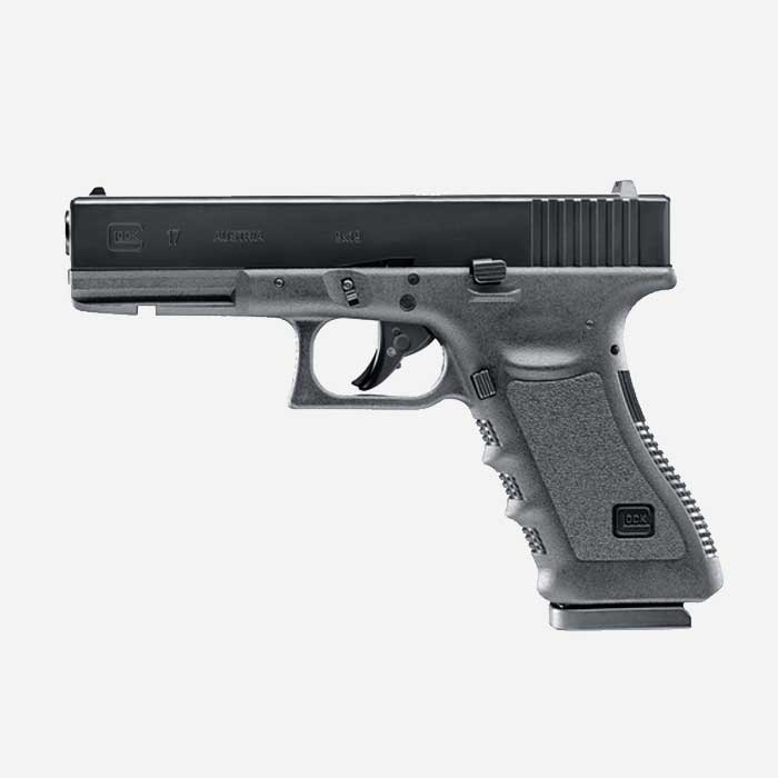 Еърсофт пистолет GLOCK 17 CO2 airsoft gun 6мм BB