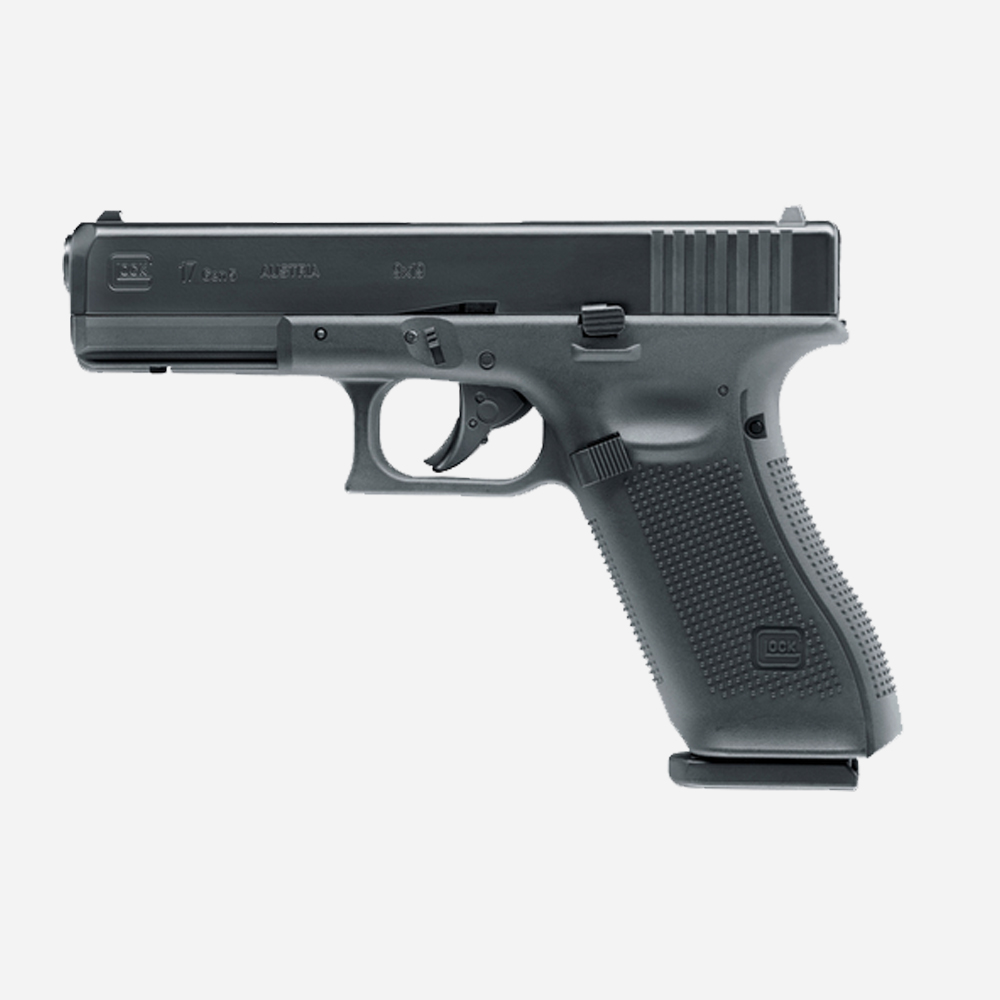 Еърсофт пистолет GLOCK 17 Gen5 (CO2 ) airsoft gun 6мм BB