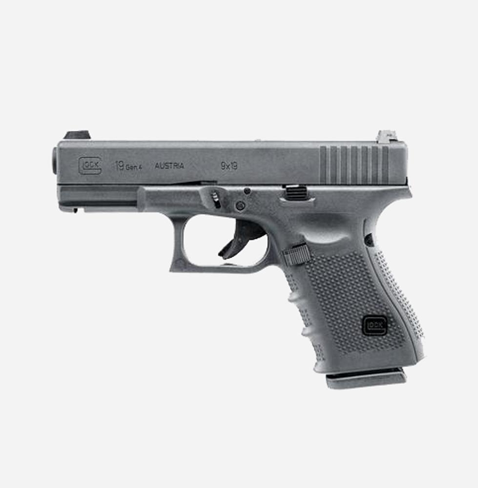 Еърсофт пистолет GLOCK 19 Gen4 (GAS) airsoft gun 6мм BB