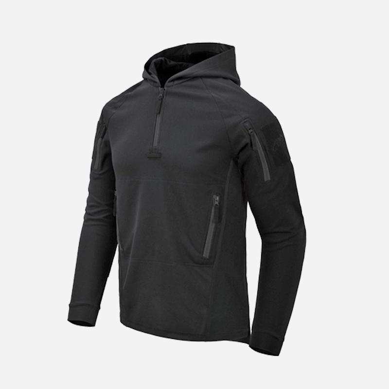 Тактическа блуза с качулка Helikon-Tex RANGE HOODIE Black