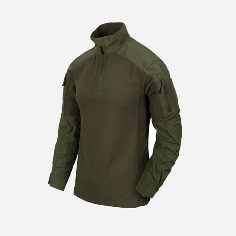 Тактическа риза Helikon-tex MCDU COMBAT SHIRT NYCO RIPSTOP Olive Green