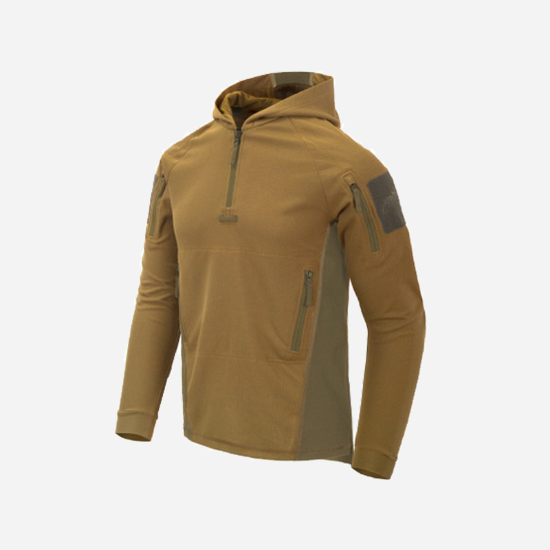 Тактическа блуза с качулка Helikon-Tex RANGE HOODIE Coyote/Adaptive Green