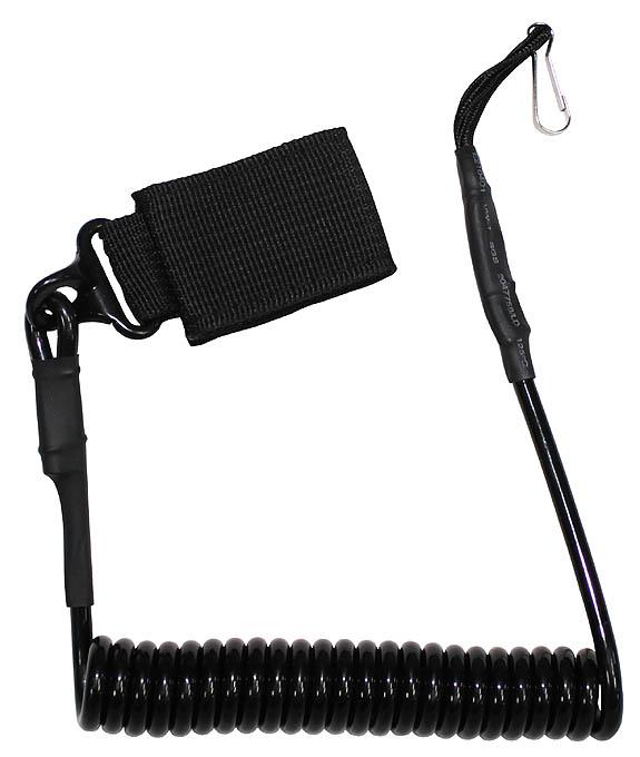 Предпазен кабел за пистолет Max Fuchs черен