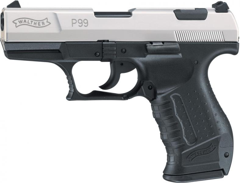 Газов Пистолет Walther P99 BiColore – Gas alarm pistol Walther