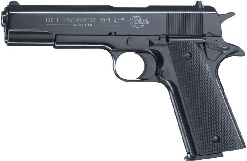 Газов Пистолет Colt Government 1911 A1 Оксидиран