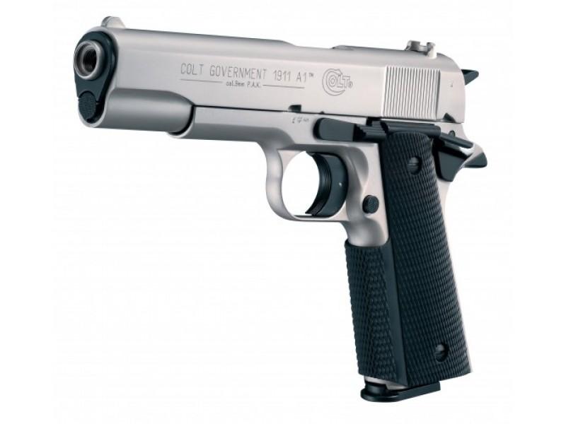 Газов Пистолет Colt Government 1911 A1 Хромиран
