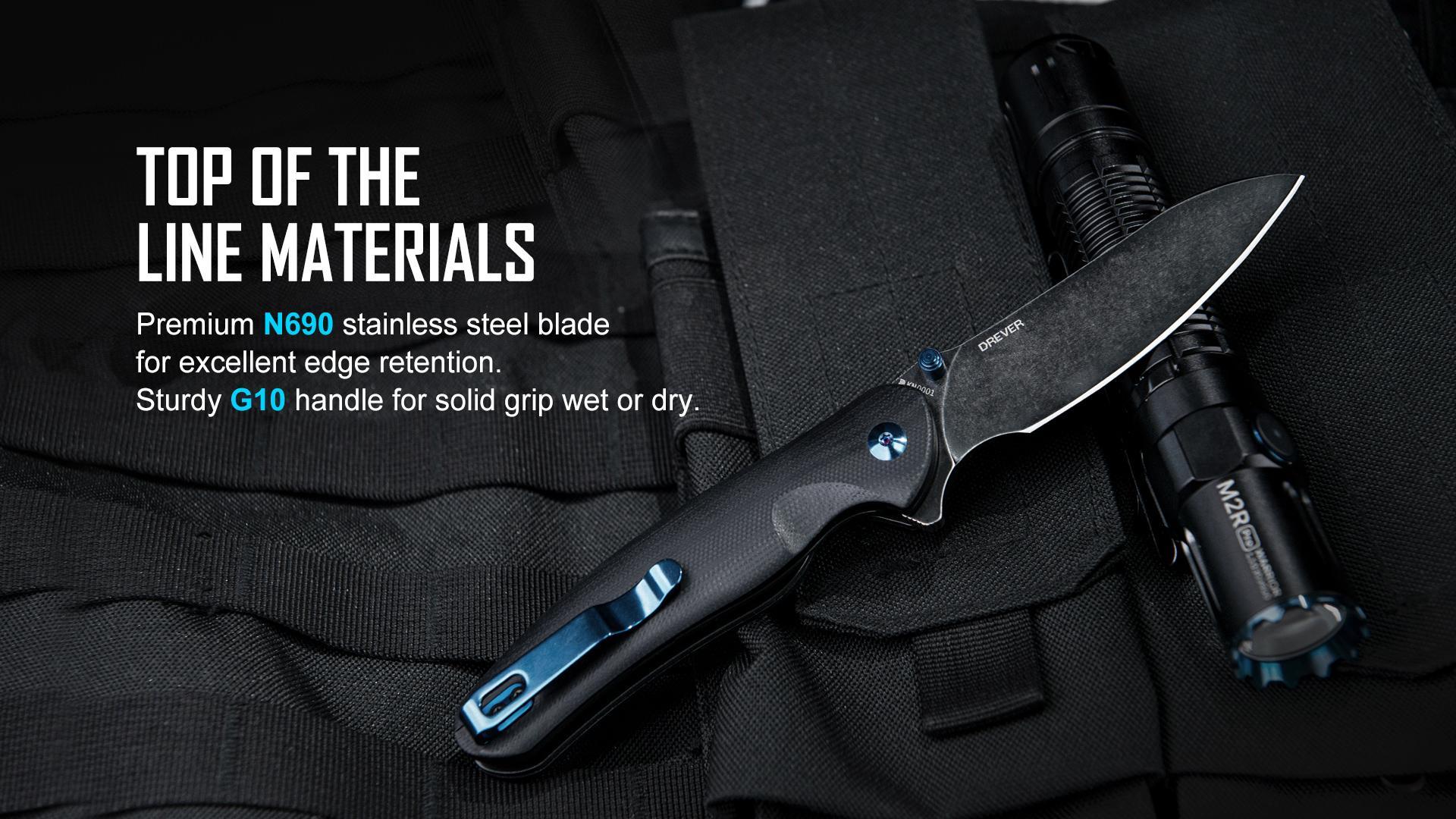 Нож Oknife Drever N690 Black