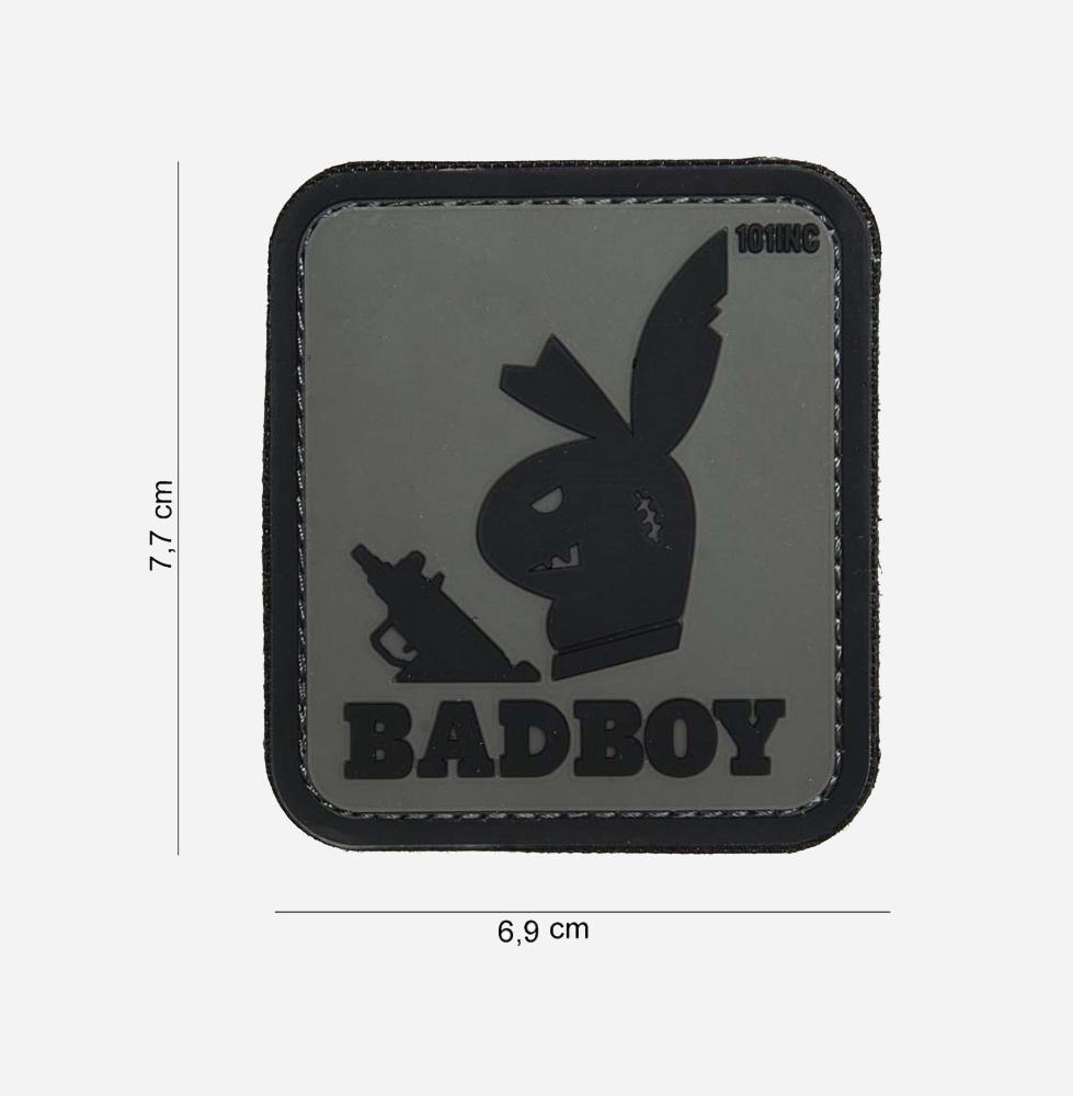 Пач 3D PVC Badboy grey #14045