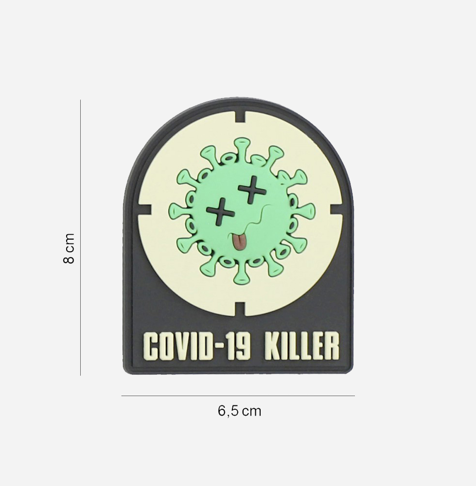Пач 3D PVC Covid-19 killer #8091