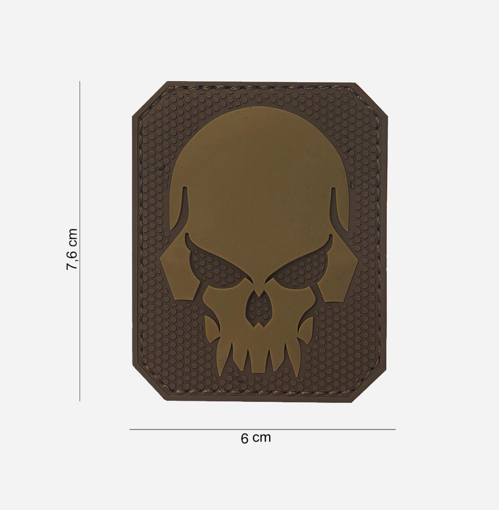 Пач 3D PVC Pirate skull #13019