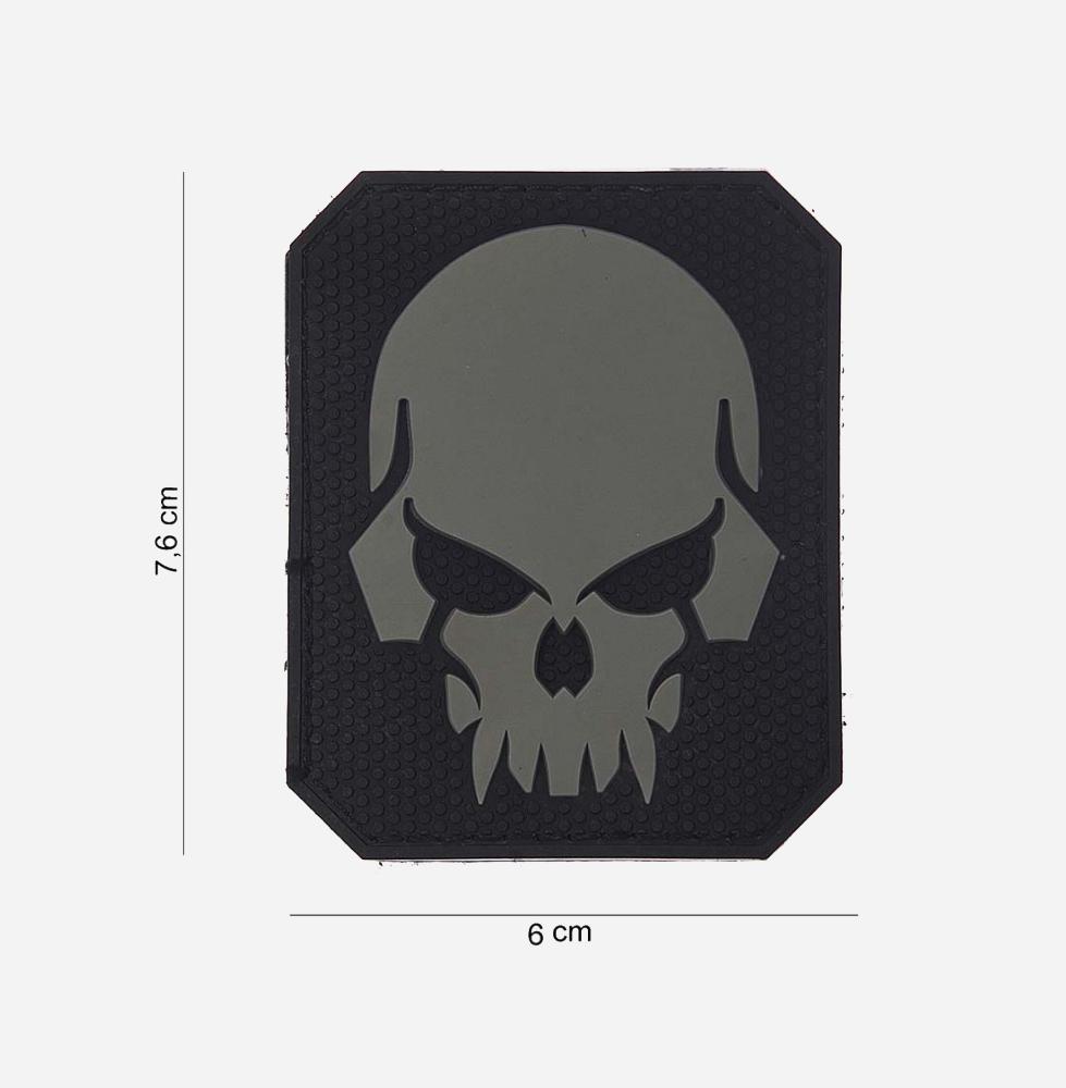 Пач 3D PVC Pirate skull #13018