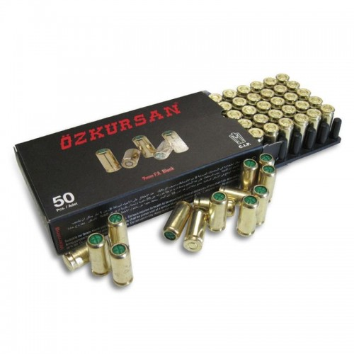 Халосни патрони Ozkursan 9 mm – Blank cartridge Ozkursan 9 mm