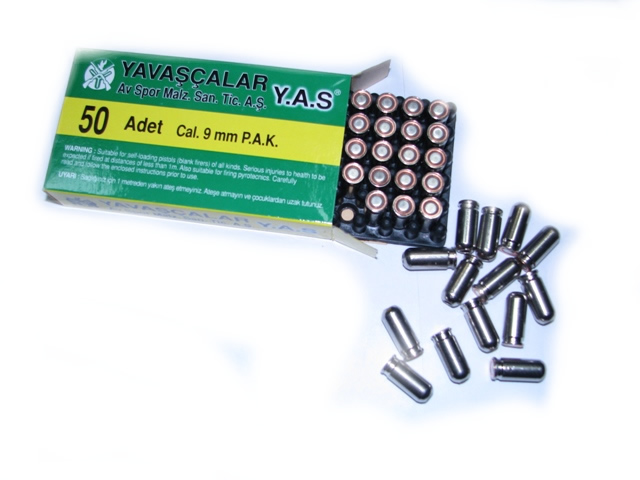 Халосни патрoни Yavascalar Demir 9 мм – Blank cartridges Y.A.S.