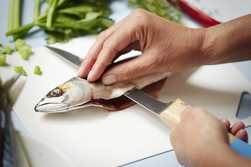 Нож за филетиране Opinel 121 Parallеle Син