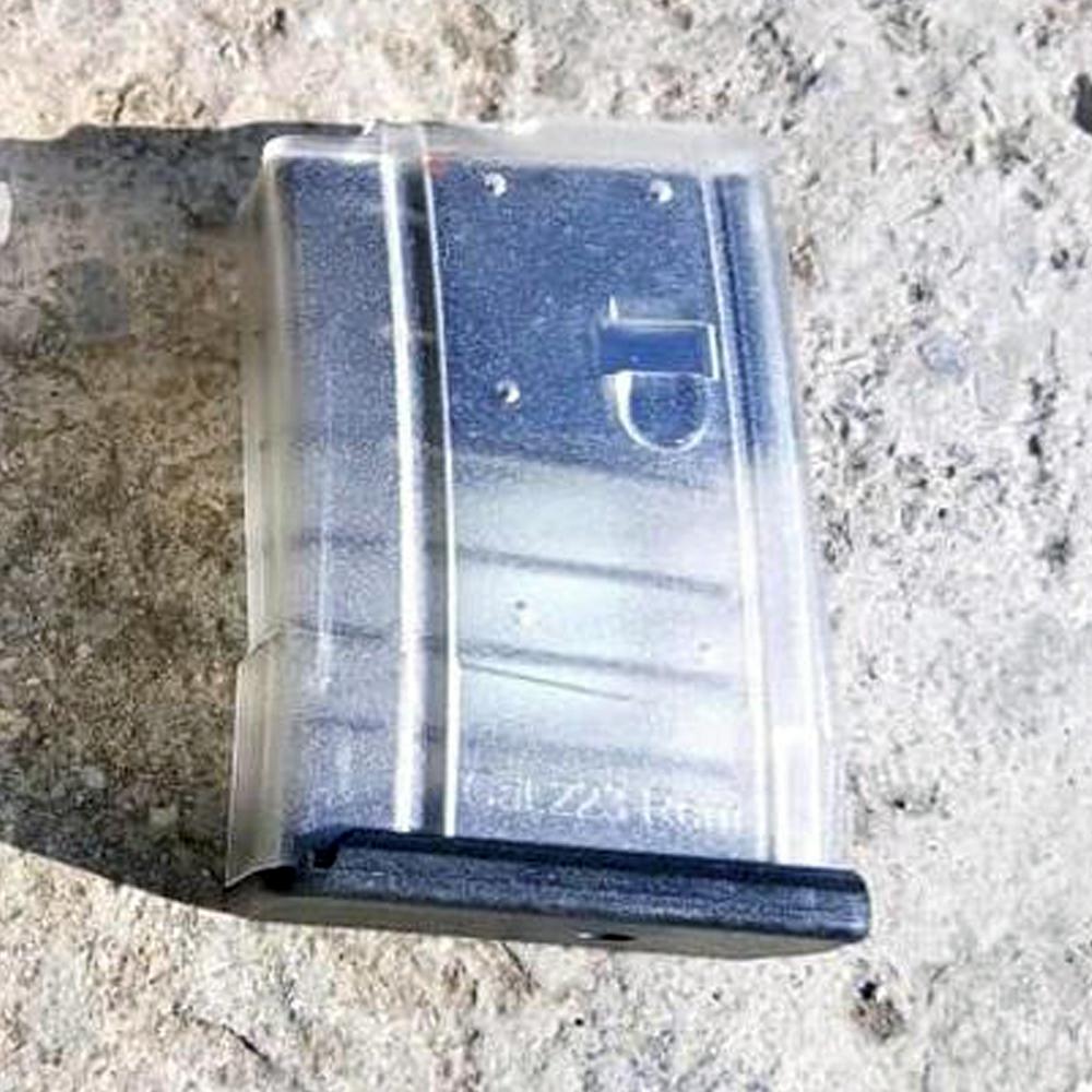 10-заряден пълнител за AR15/M16 .223/5,56 – прозрачен