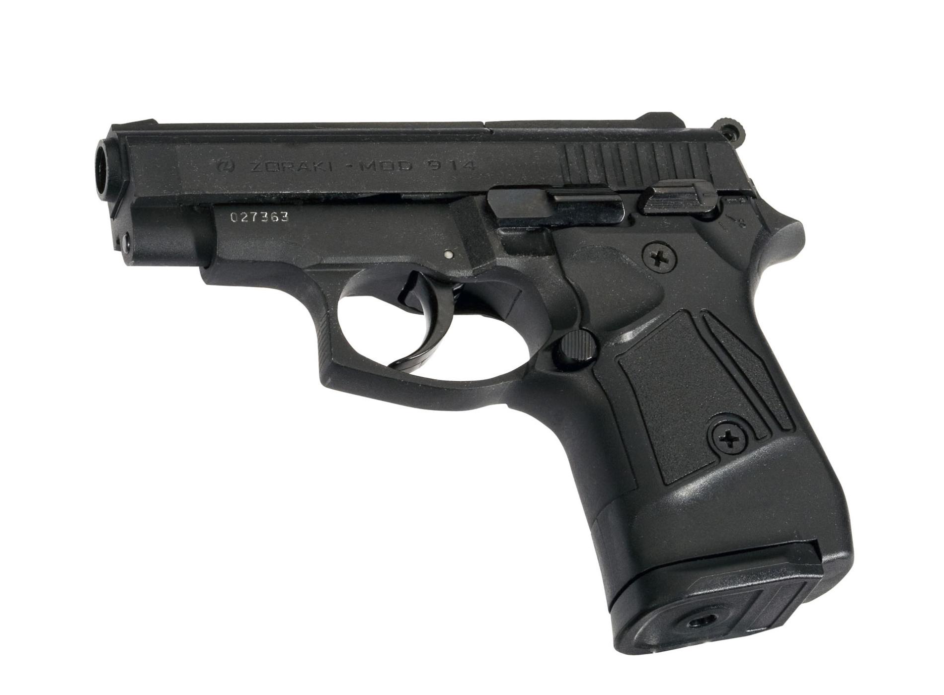 Газов Пистолет Zoraki 914, 9мм, 14 Заряда