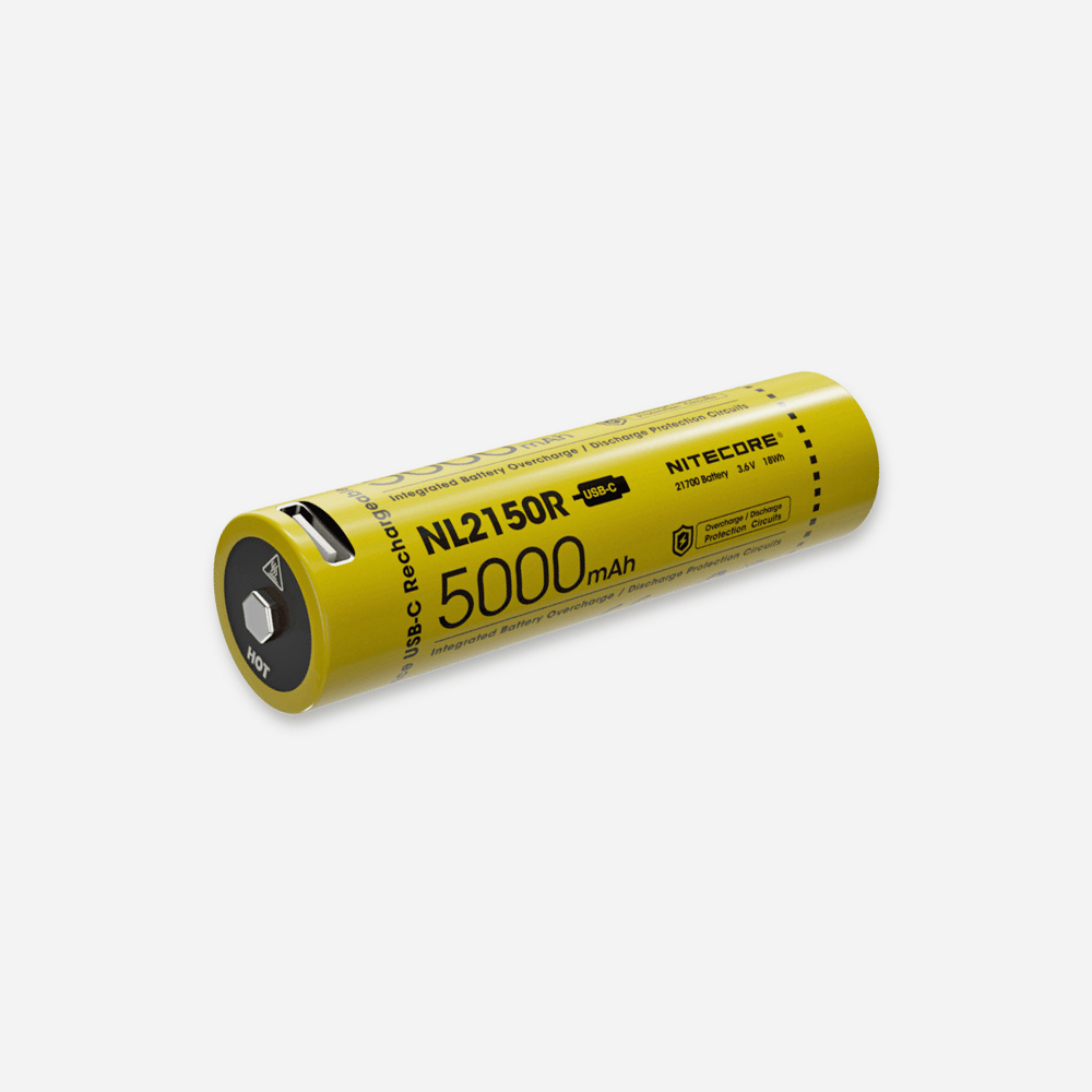 Зарядна батерия Nitecore 21700 NL2150R 5000 mAh