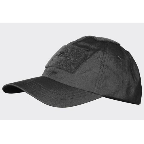 Бейзболна Шапка Helikon-tex Черна Polycotton Ripstop Black